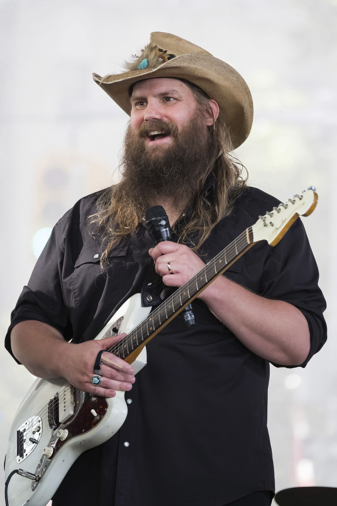 Chris Stapleton Performs on NBC's Today Show