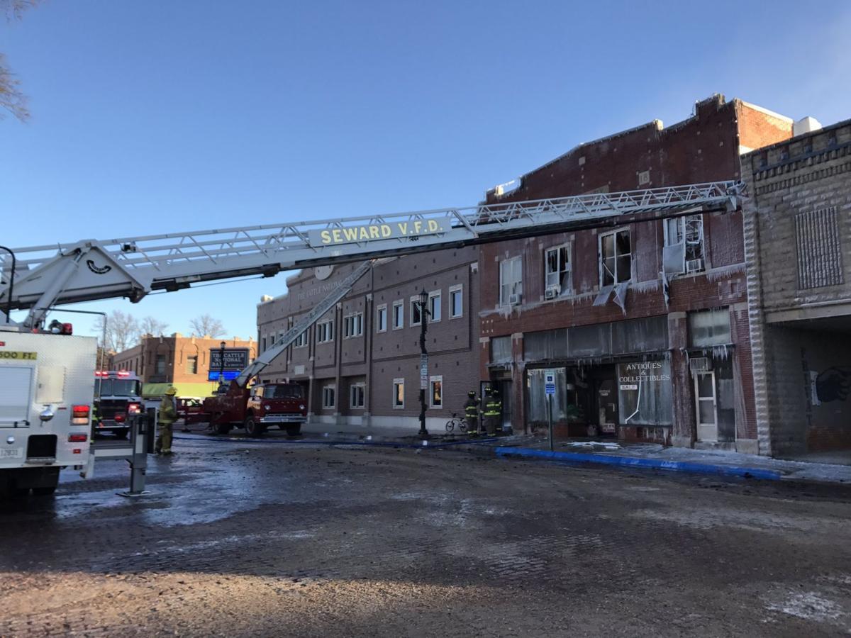 Fire guts downtown seward shop apartment building crime for Shop with apartment above