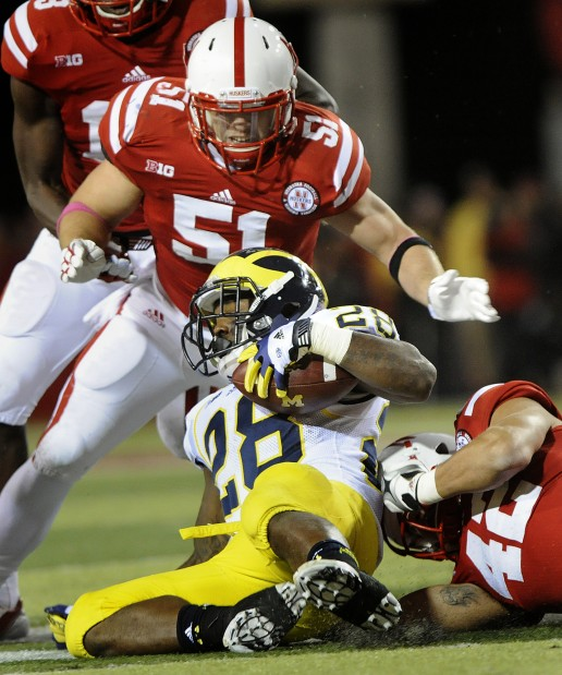 Nebraska vs. Michigan, 10.27.2012