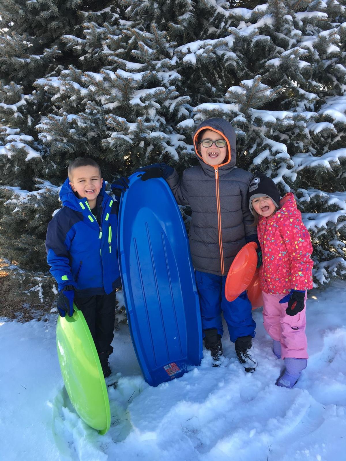 The Durban kids in snow