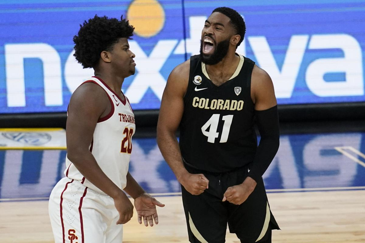 P12 Colorado USC Basketball