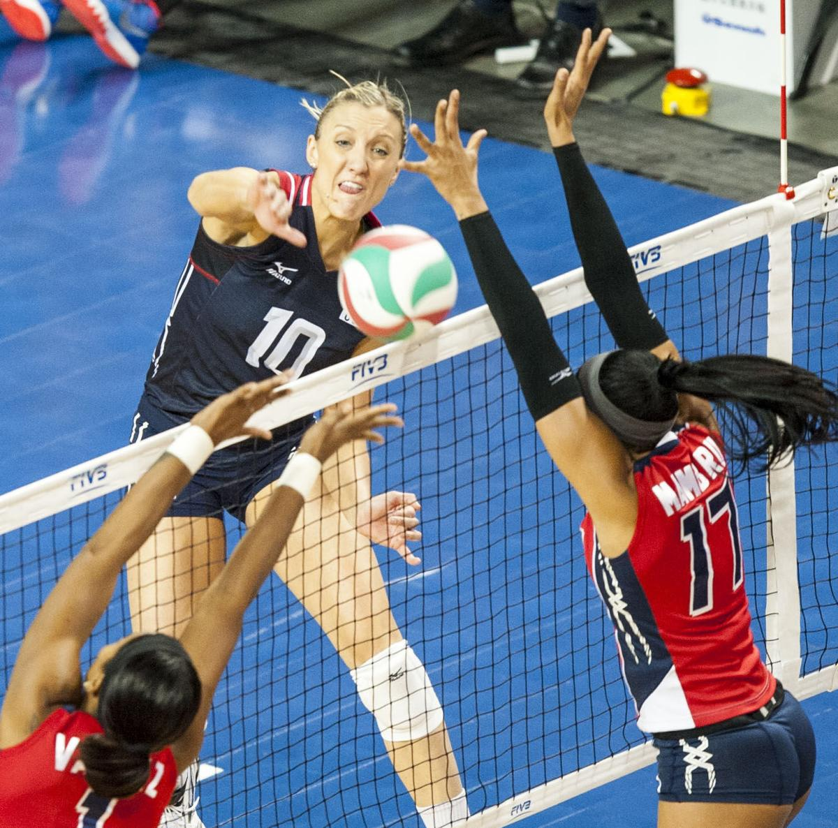 Olympic Volleyball, USA vs. Dominican Republic