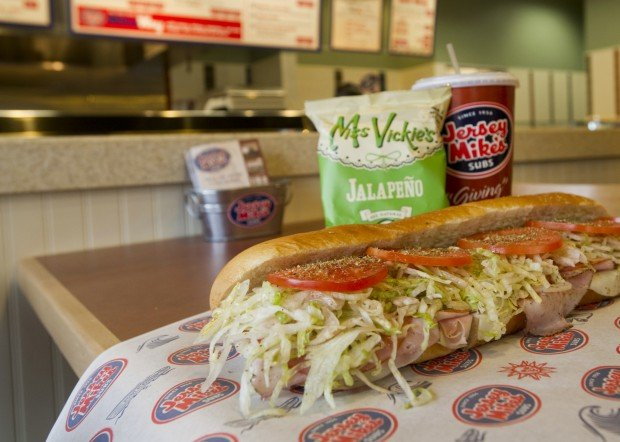 Review: Jersey Mike's Subs builds on bread   Dining   journalstar.com