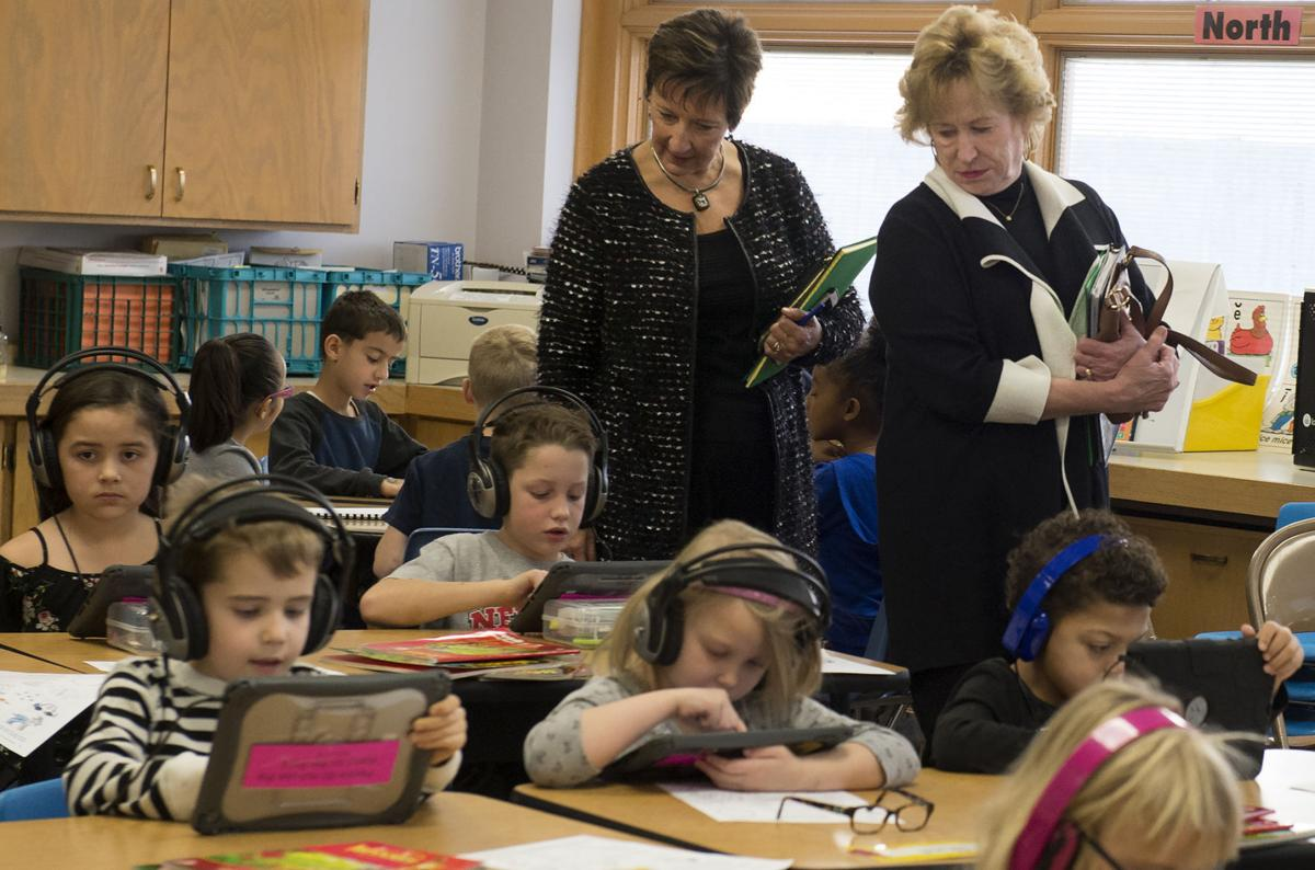 State senator school visit