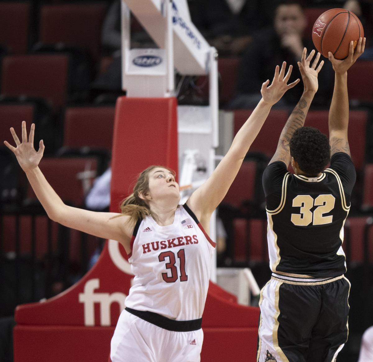 Kate Cain Quickly Became The Best Shot Blocker In Nebraska Women S Basketball History Women S Basketball Journalstar Com