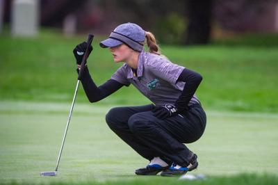 Junior golfer Neely Adler