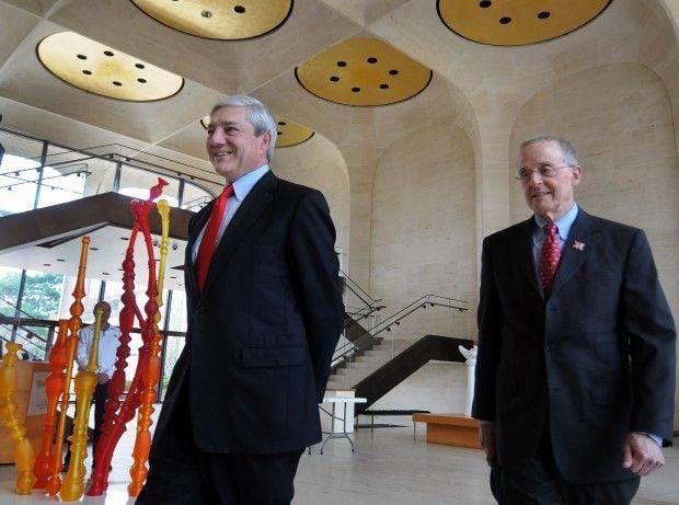 Graham Spanier, Harvey Perlman