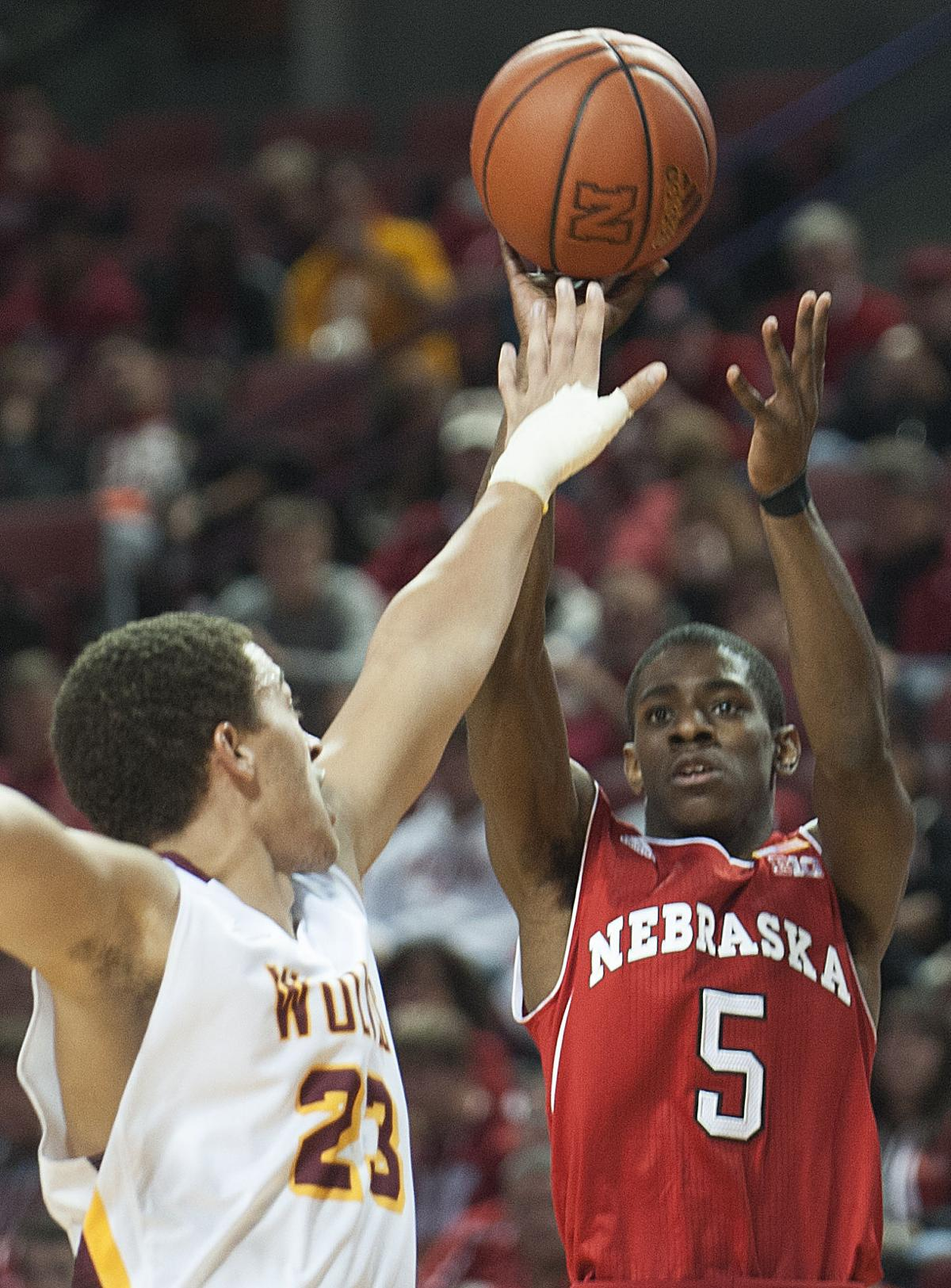 Nebraska Mens Basketball versus Northern State, 11.09.15 (Exhibition)