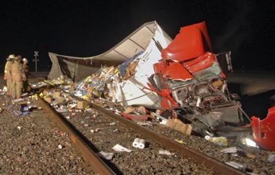 Semi collides with train near David City   Nebraska News