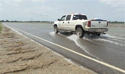 Missouri River flooding, June 20, 2011