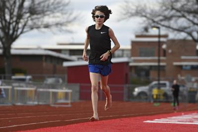 Manchester freshman Aidan Puffer has been running year-round for years, but says he's not concerned about the risks of specializing too early in one sport. Puffer's father Kyle said the family has avoided pushing Aidan too hard or pressuring him to earn scholarships.
