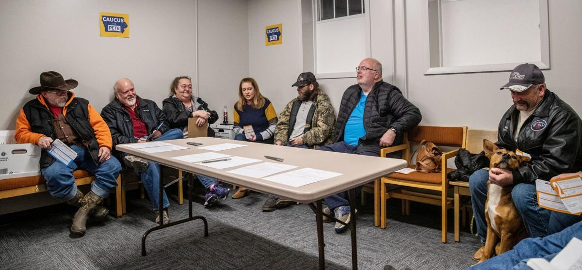 Flooding has taken a toll on Mills County, Iowa; even when it comes to caucusing