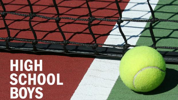 Boys tennis results, 9/25