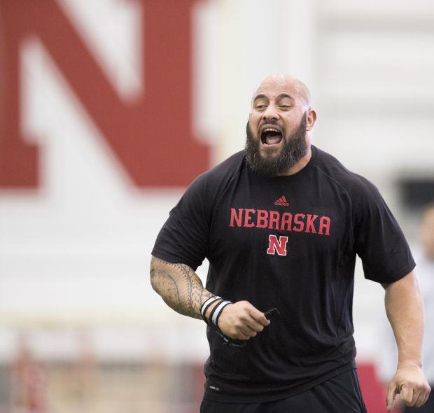 Nebraska football practice