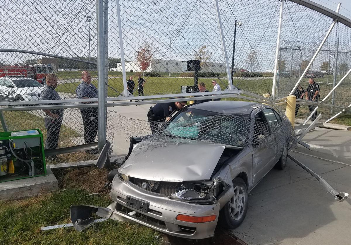 Jail fence repair