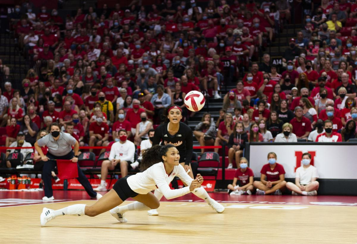 NU volleyball Red-White Scrimmage, 8.21