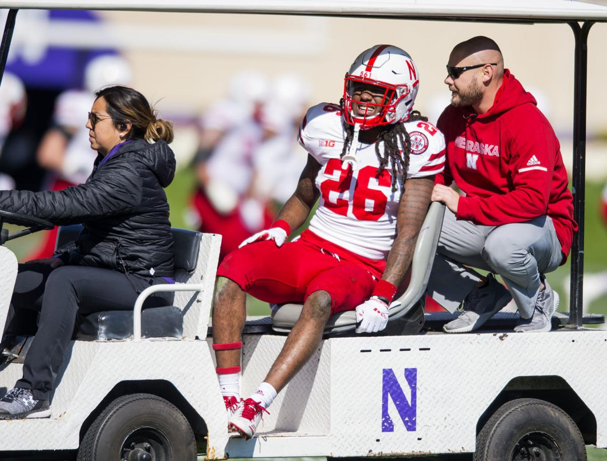 Nebraska vs. Northwestern, 10/13/18