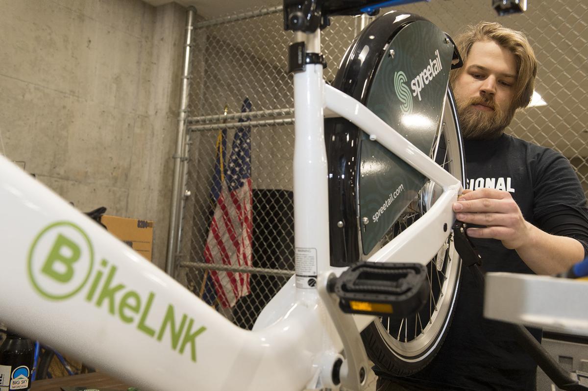 BikeLNK field tech services bikes