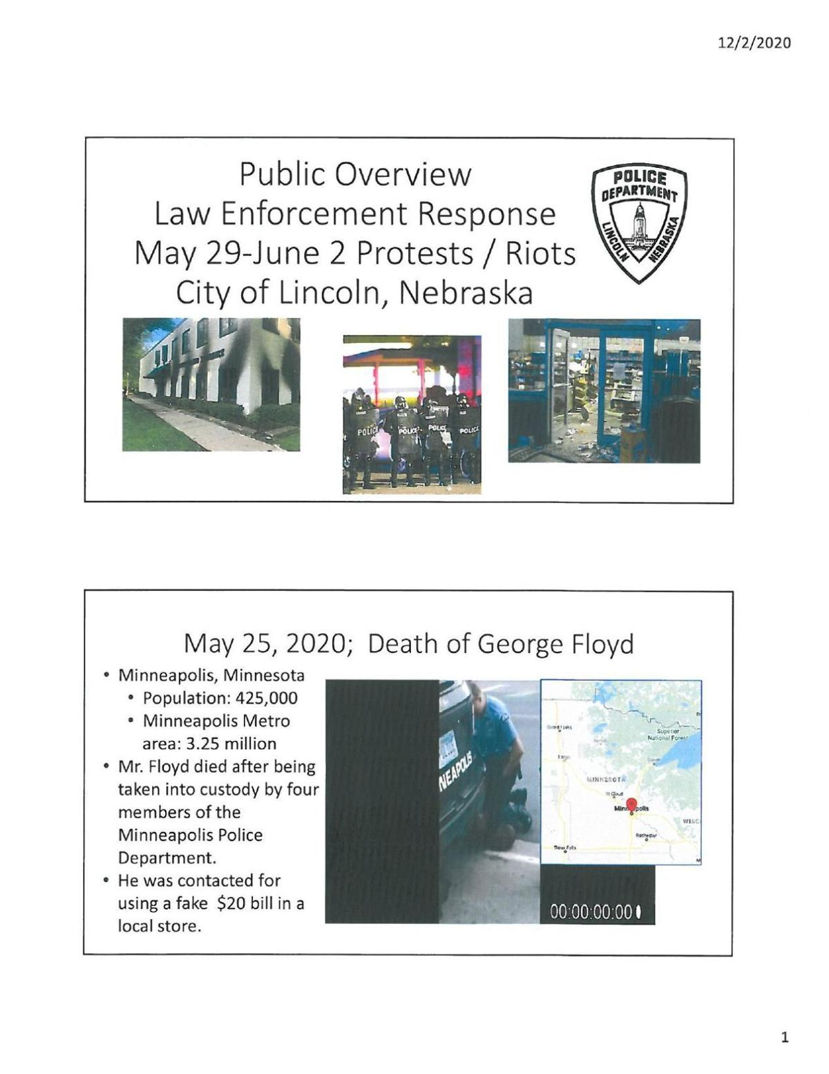 Read the report: LPD overview of riot response