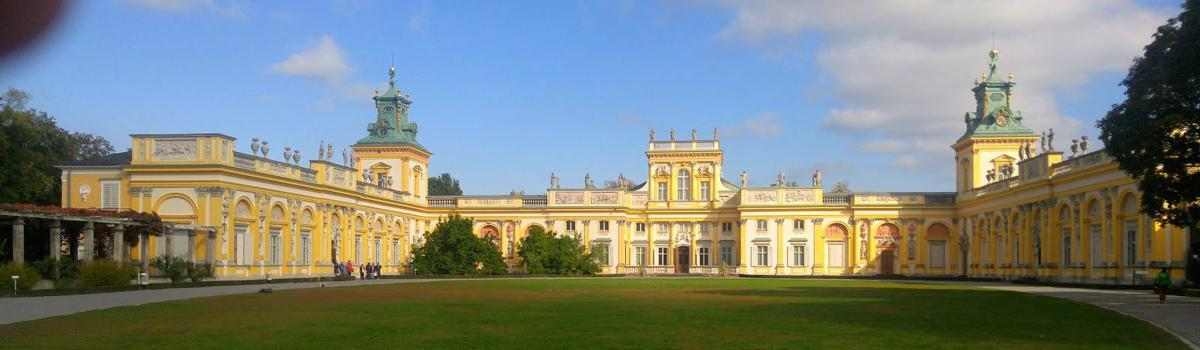 Willanow Palace in Warsaw, Poland