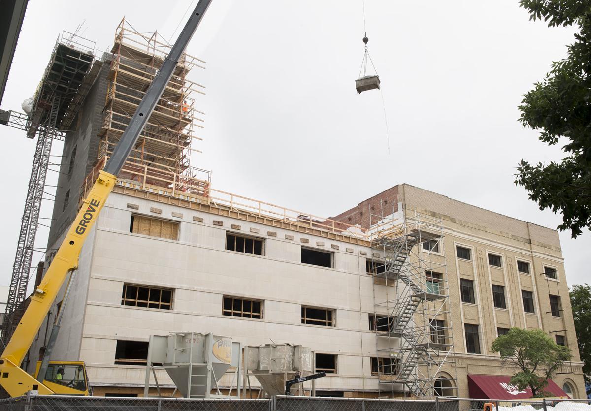 The Kindler Hotel construction