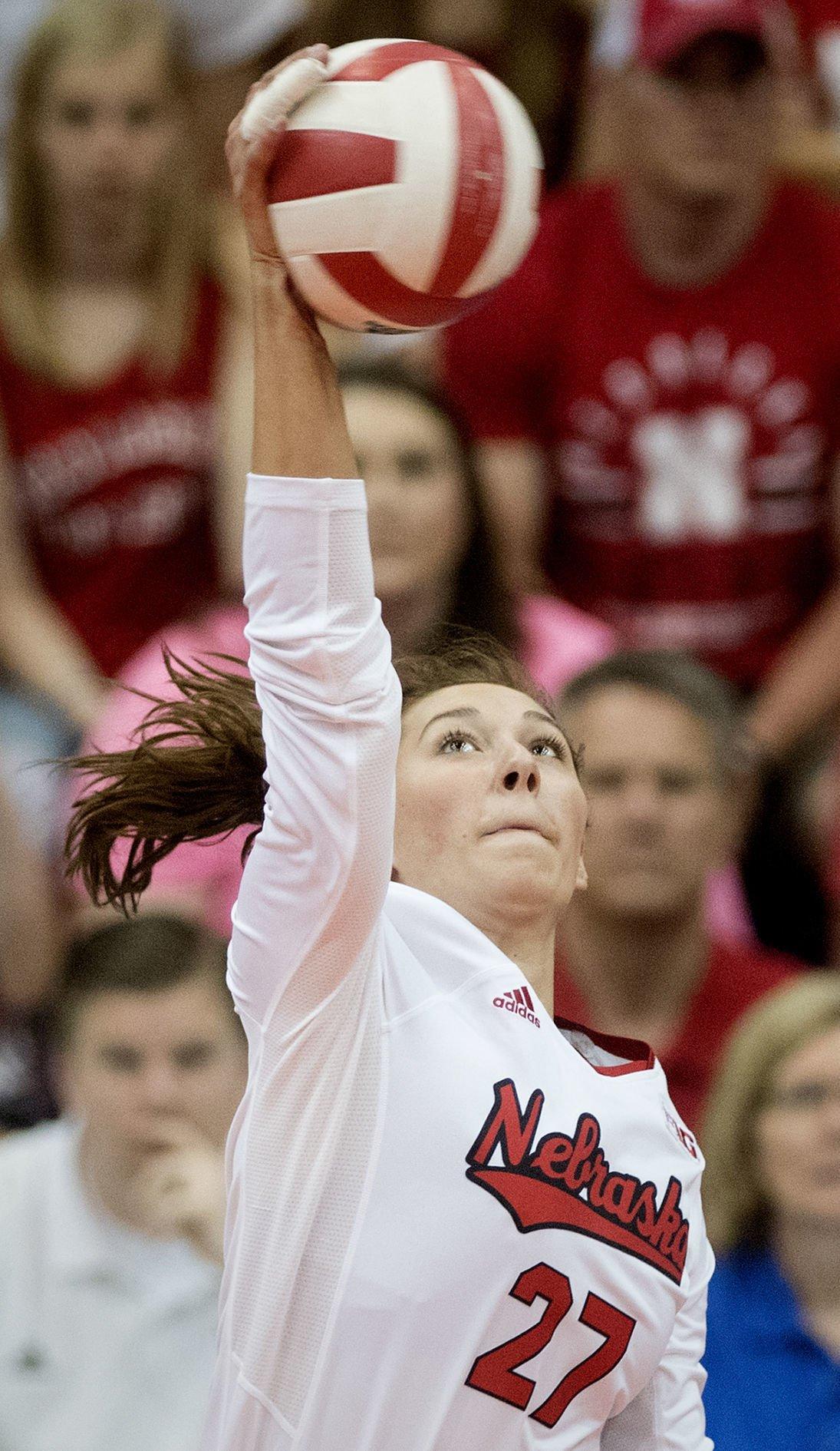 Nebraska Volleyball Spring Match, 4.20