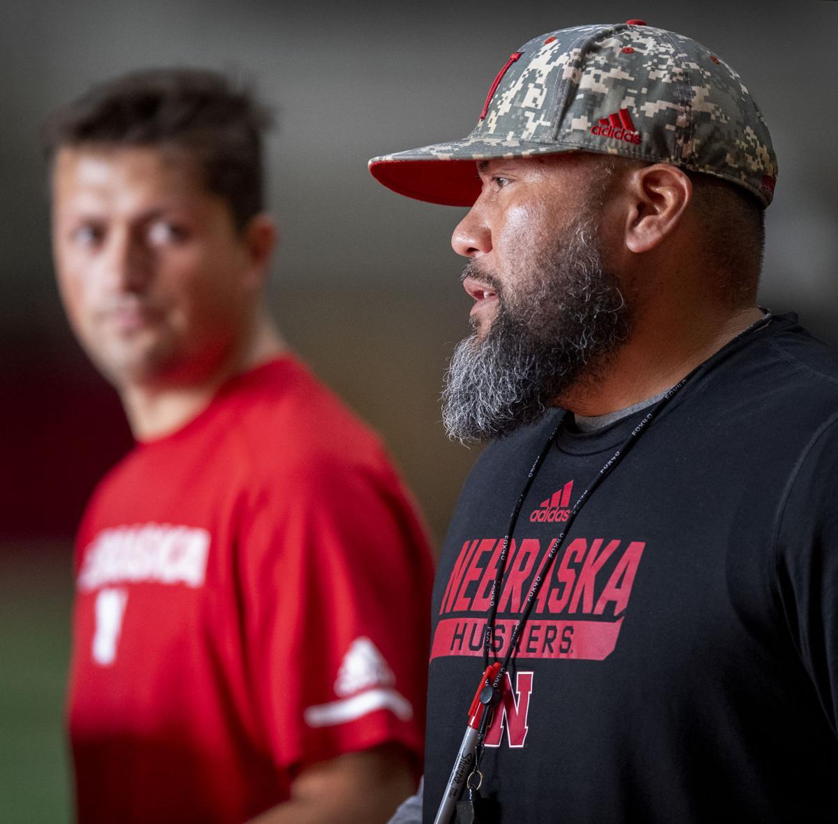Nebraska football practice, 8.11