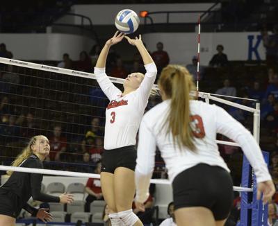 Nebraska vs. Colorado, NCAA Volleyball Tournament, 12/8/17