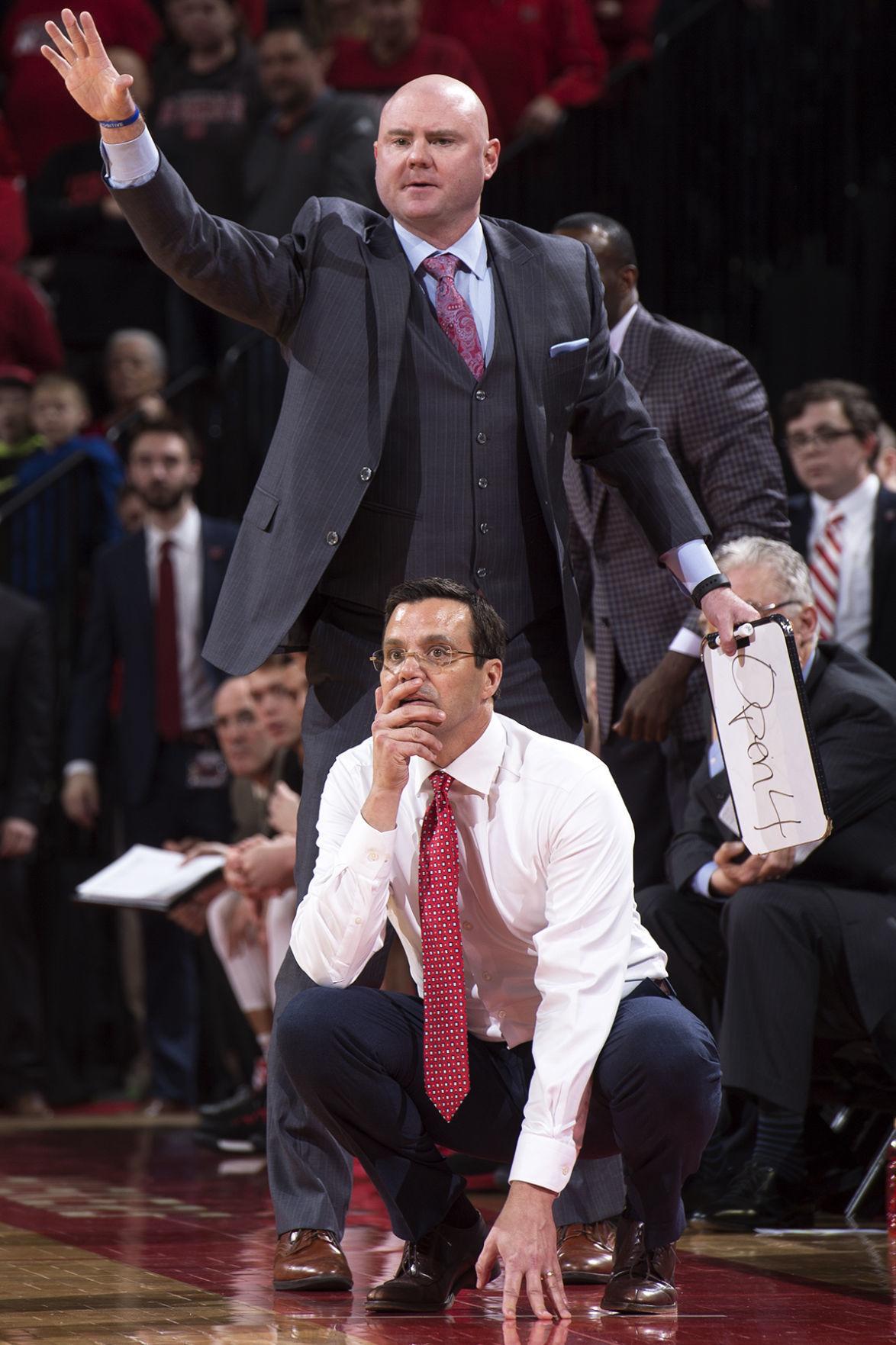 NU men's hoops vs. Penn State, 2/25/18