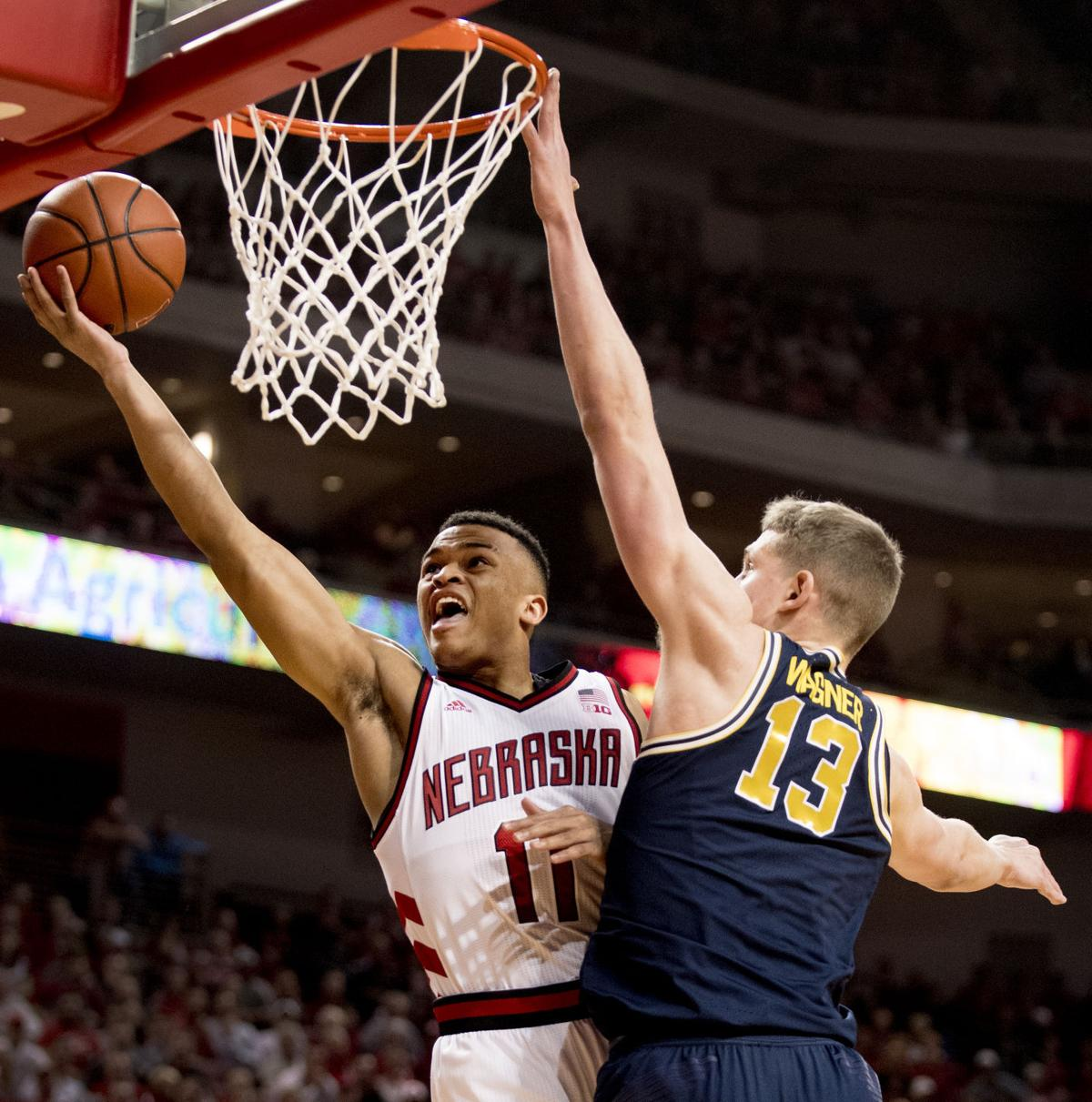 Michigan Basketball vs. Nebraska, 1/18/18