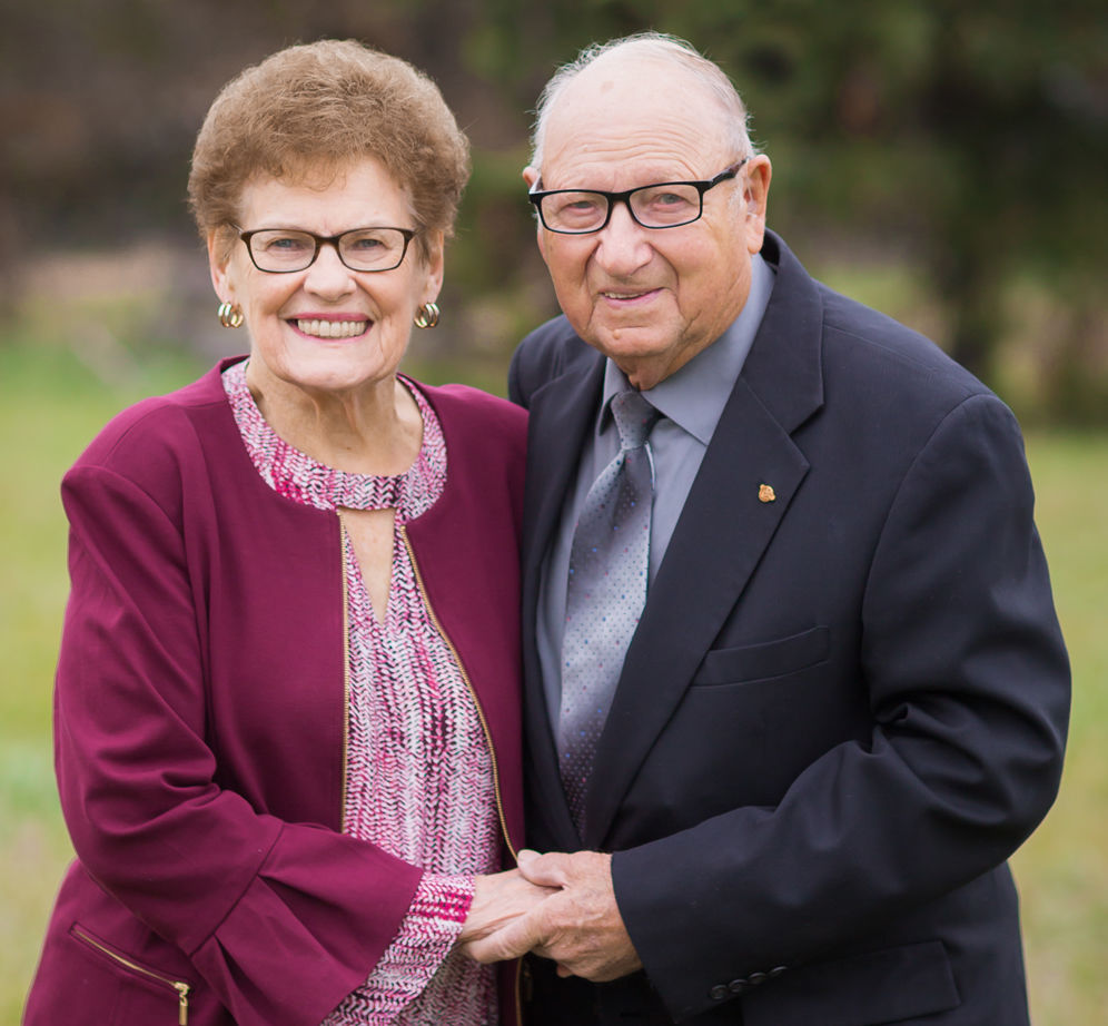 Lenhart and Helen (Leners) Fritzen celebrate 70th anniversary
