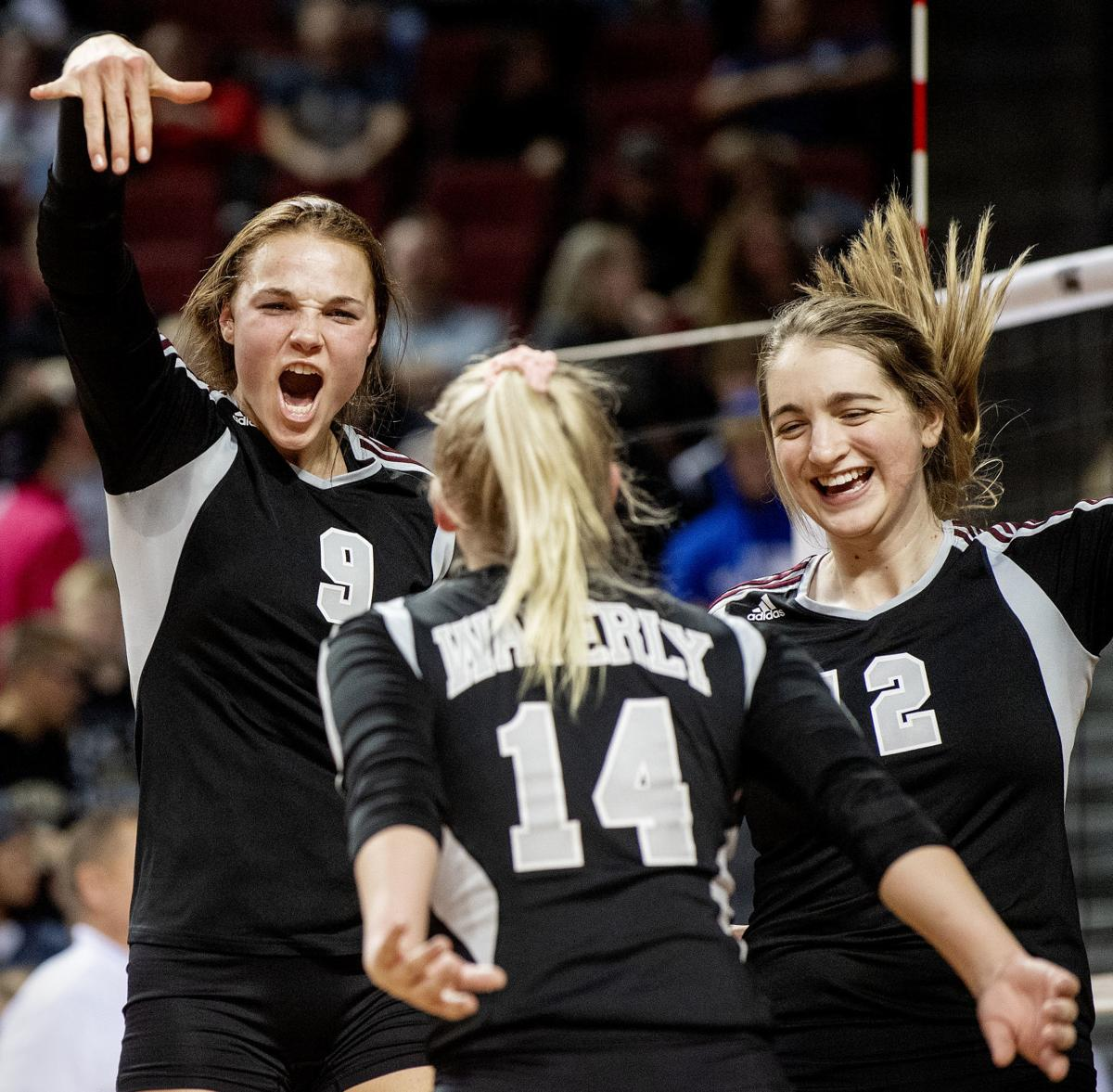 State volleyball, Waverly vs. Northwest, 11.7