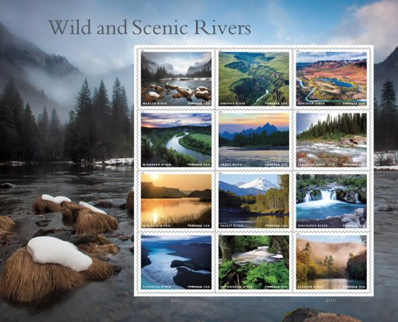 Wild and Scenic Rivers stamps
