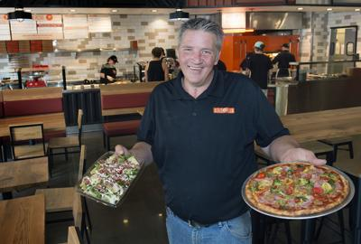 Round Table Pizza Lincoln Ca.Dining Review Blaze Impresses With Speed Service Not To Mention