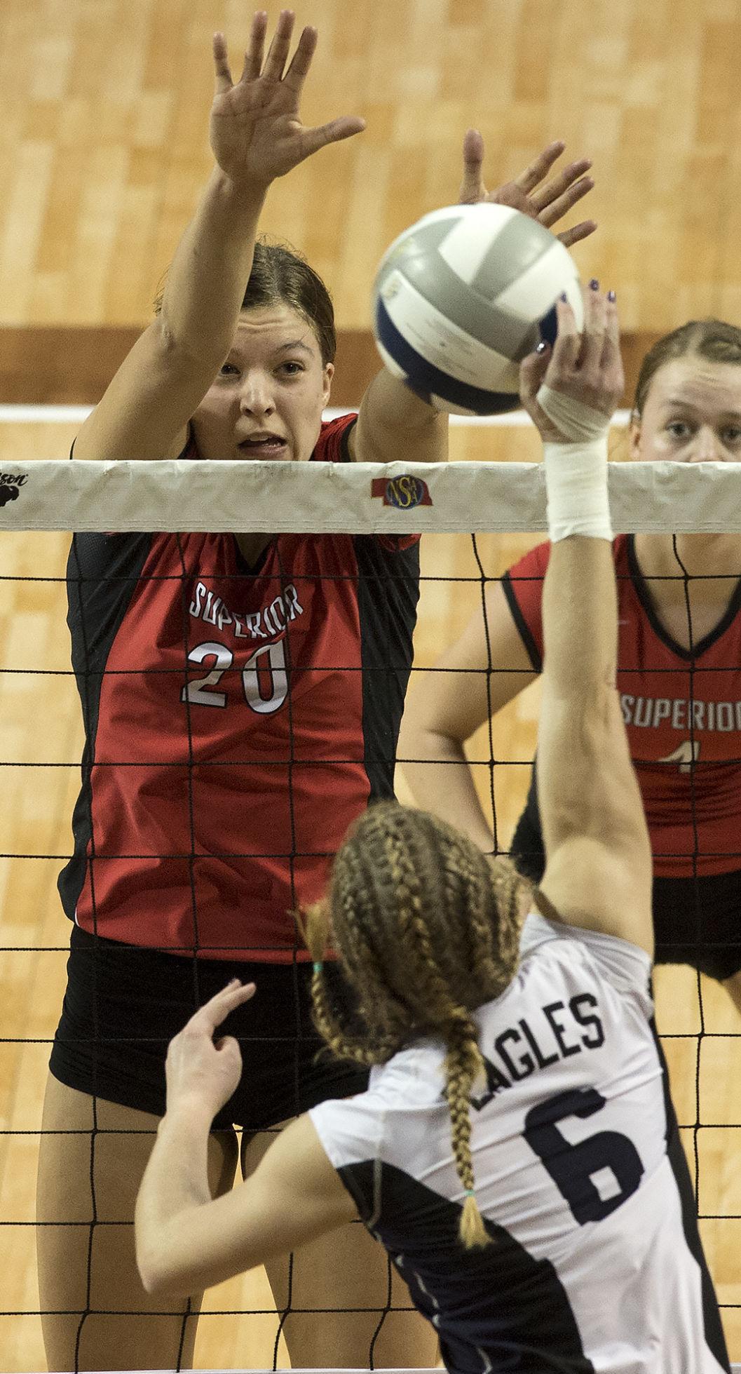 Nebraska Christian vs. Superior, C-2 semifinals, 11/10/17