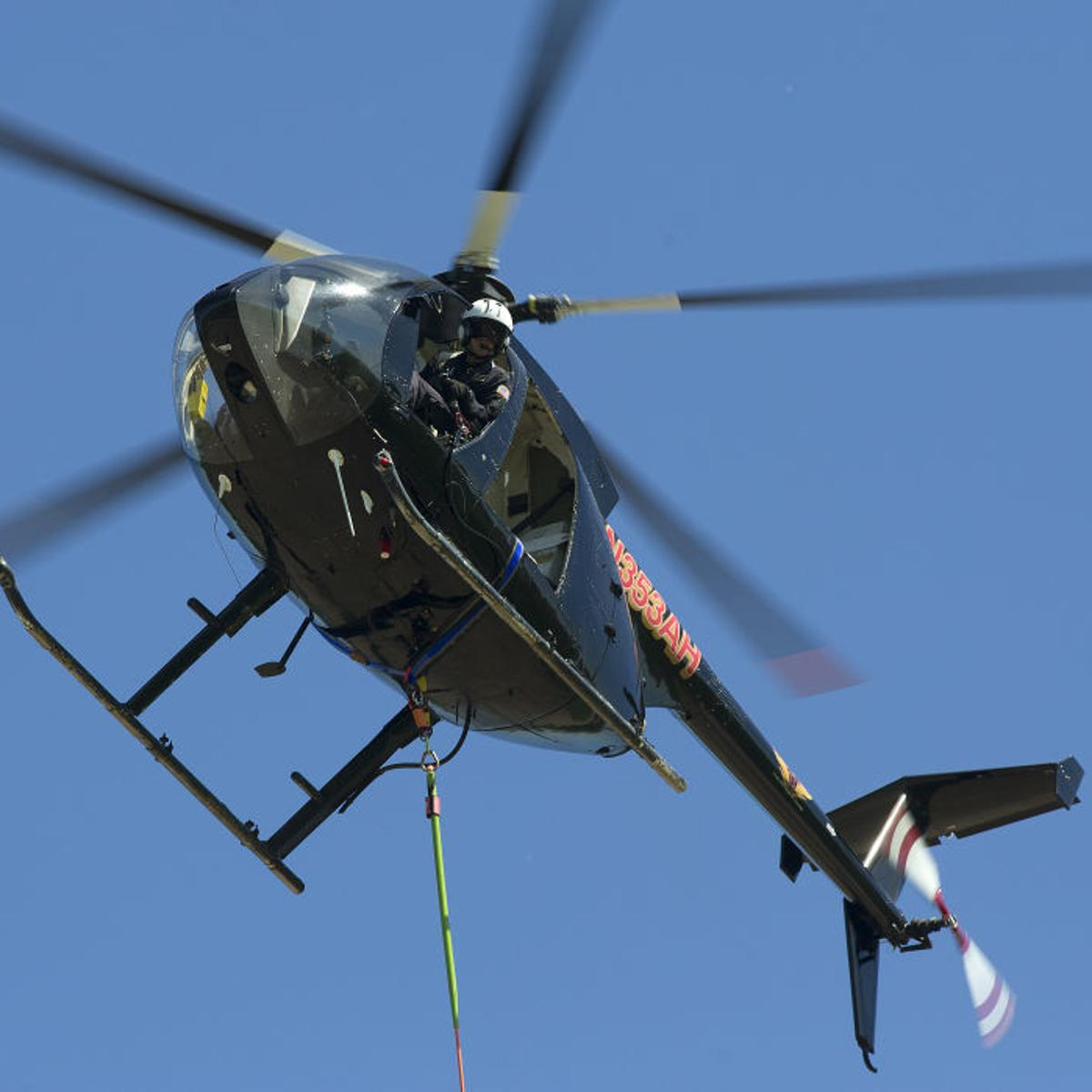 Helicopter will be flying low over area this summer to learn