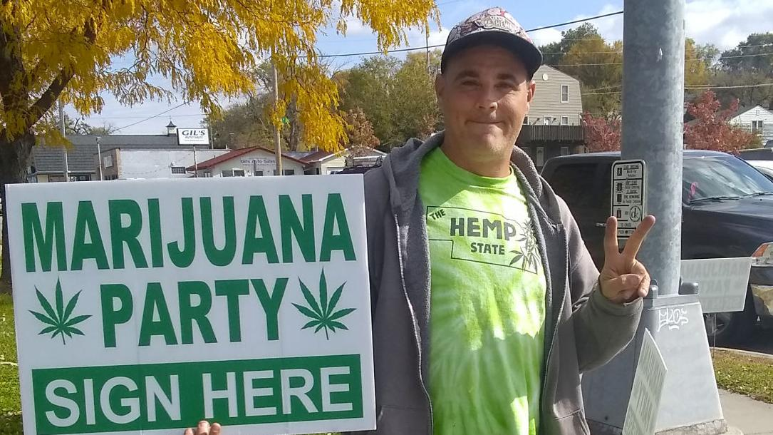 Legal Marijuana Now Party turns in signatures for official recognition in Nebraska