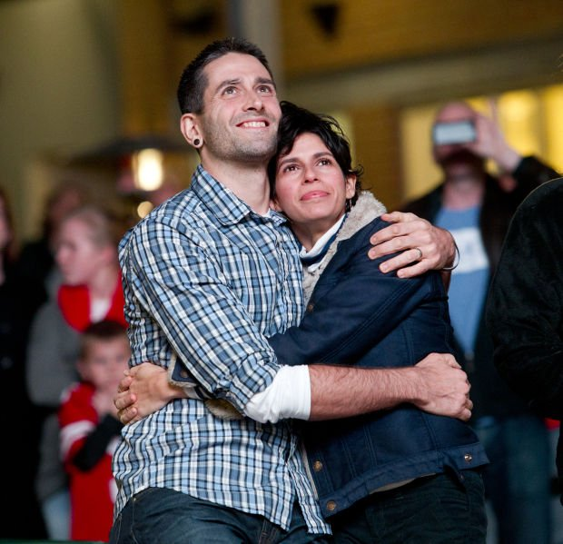 Railyard Lights Up With Flash Mob Proposal