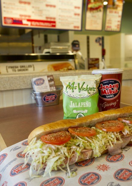 Review: Jersey Mike's Subs builds on bread | Dining | journalstar.com
