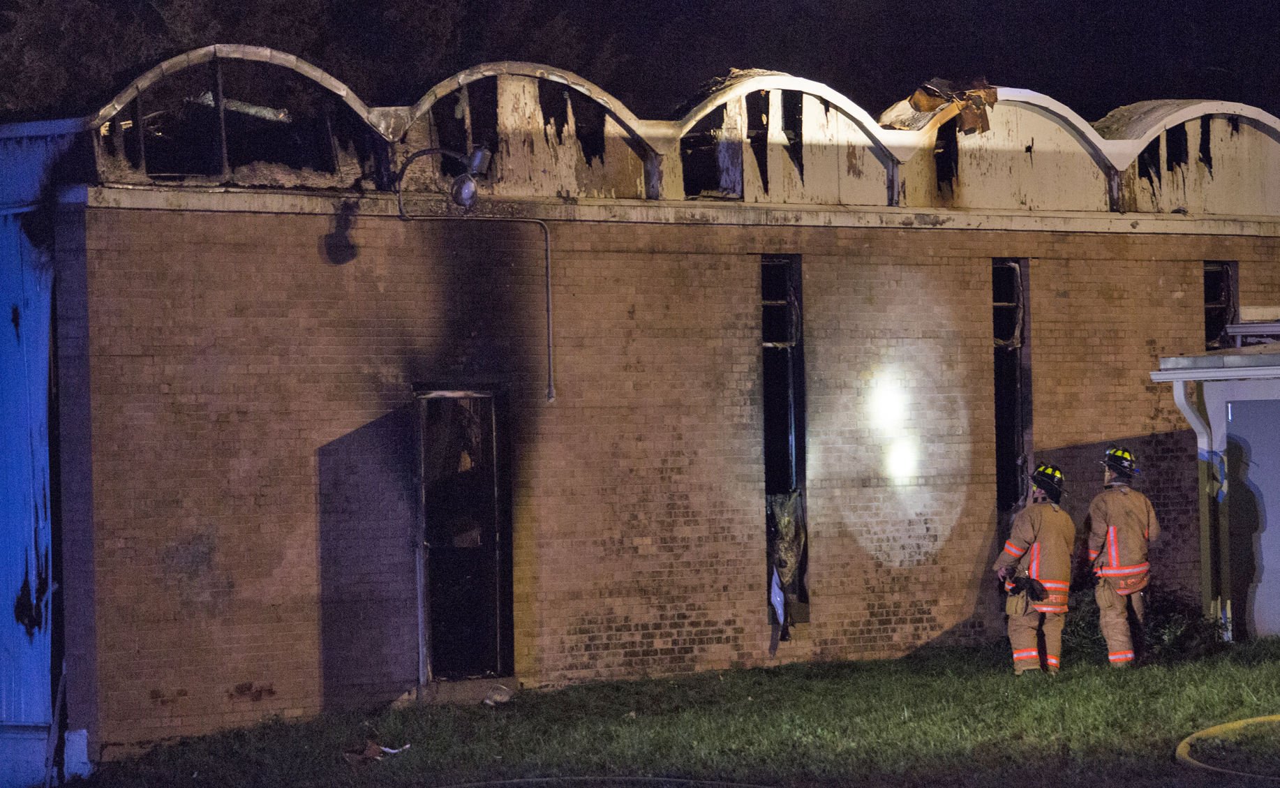 Arson suspected in fire that gutted Lincoln