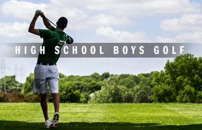 High school boys golf logo 2014