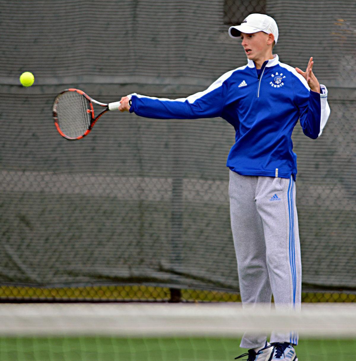 Class A boys state tennis, 10/12/17