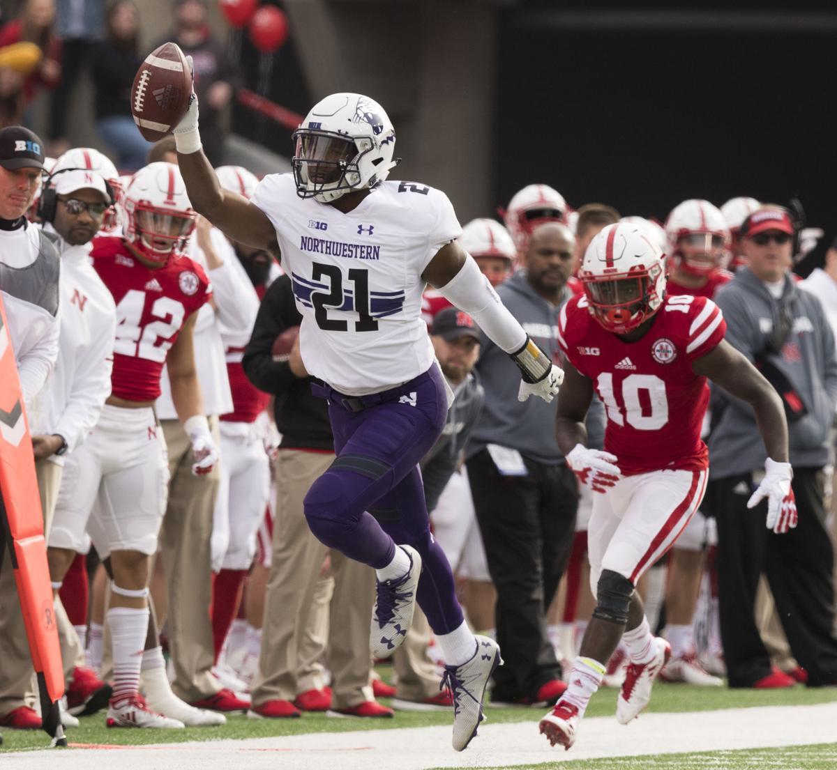 Northwestern vs. Nebraska, 11/4/17