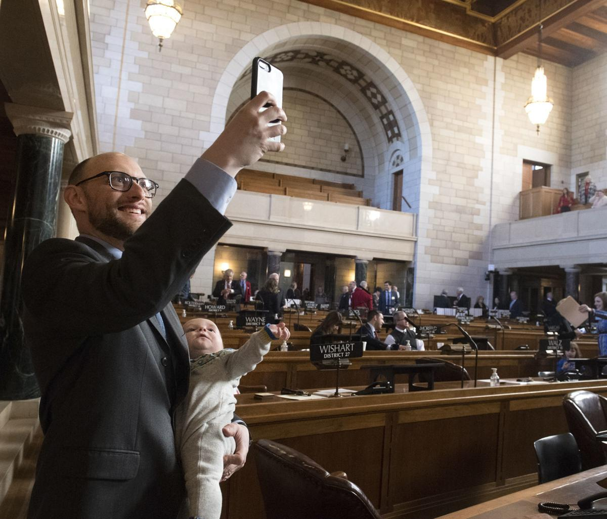 First day of the Legislature