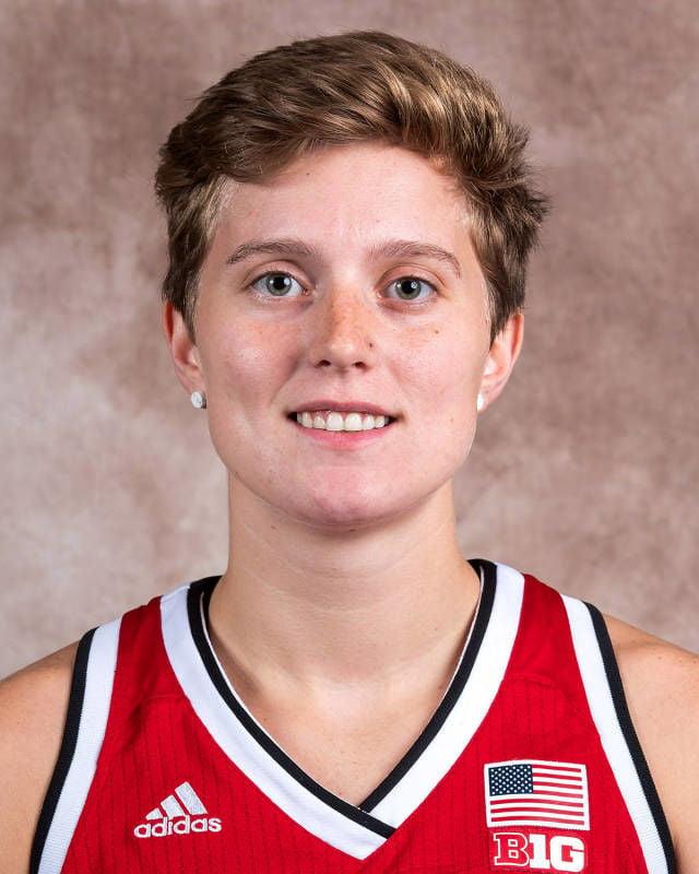 Hannah Whitish, Nebraska women's basketball