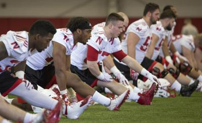Nebraska football, first day of spring practice, 3/4/17