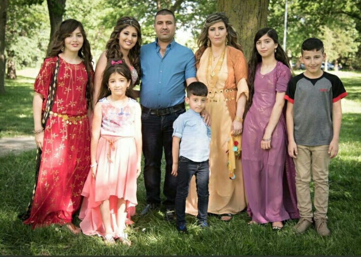 Nibras Khudaida family