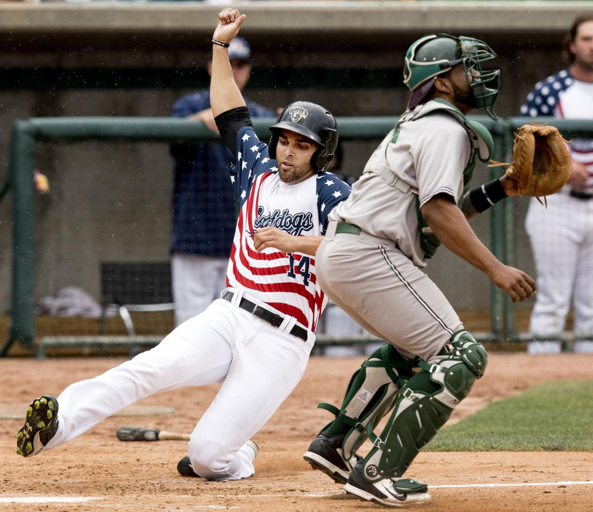 Athletics Tigers Game Suspended In 7th With A S Up 5 3: Saltdogs Earn Split Against Gary