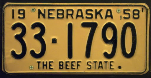 the beef state slogan may go on some license plates nebraska news