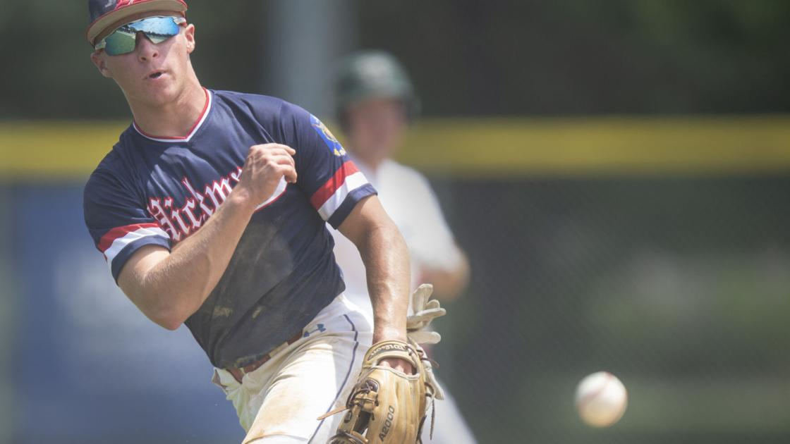 Comeback in Class B Legion final illustrated Hickman's determination this summer on the ball diamond